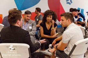 Spring Startup School sales workshop
