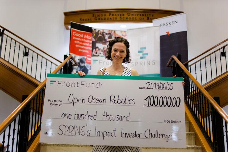 Spring Impact Investor Challenge 2019 Winner - Open Ocean Robotics