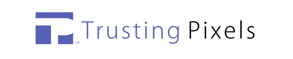 Trusting Pixels logo