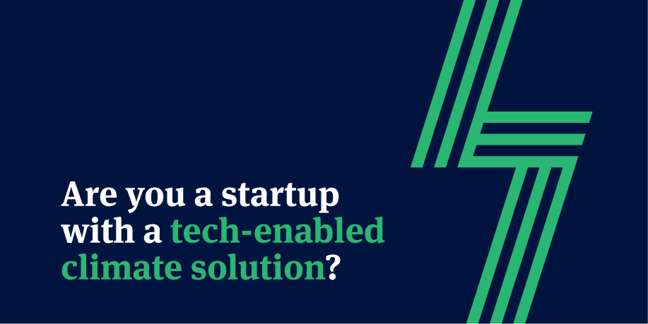 Angels for Climate Solutions - Call for Startups
