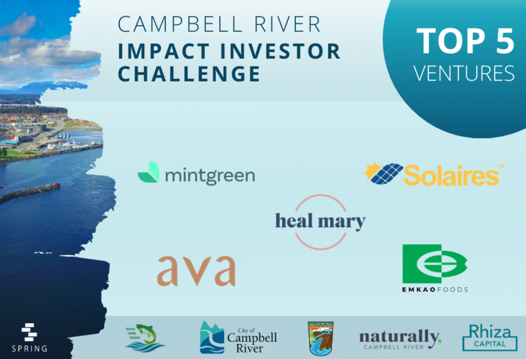 Campbell River Impact Investor Challenge Top 5 Ventures