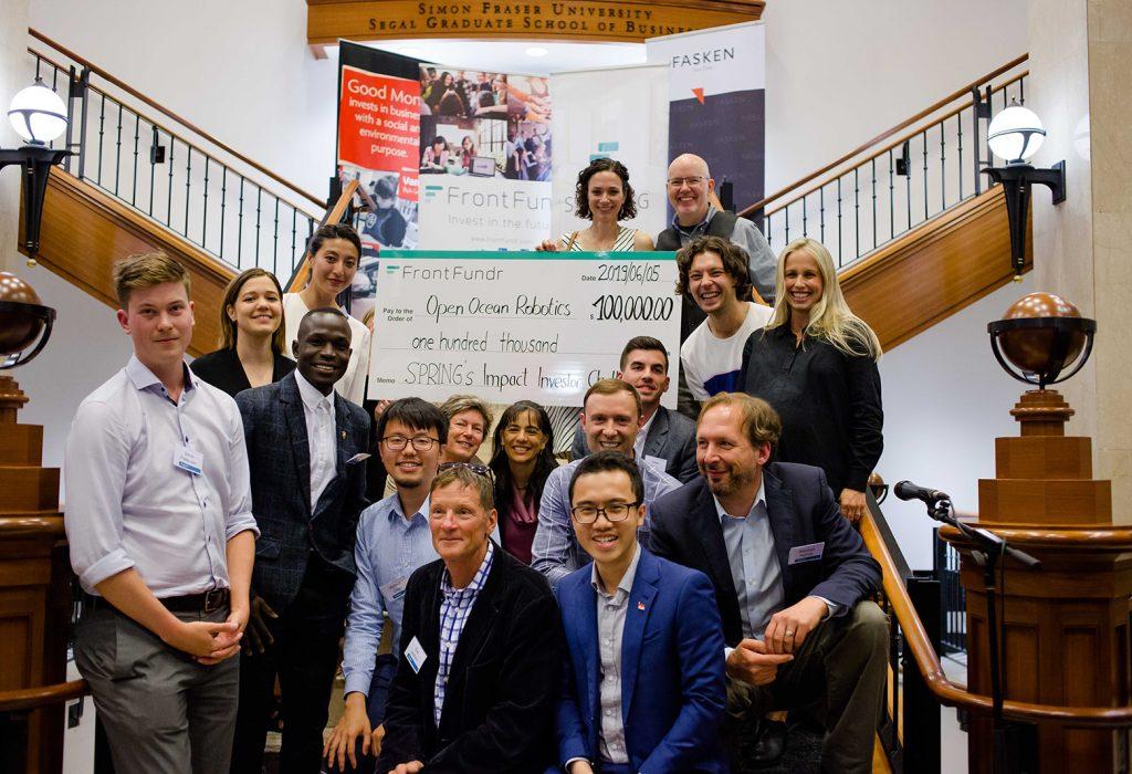 Spring Impact Investor Challenge 2019 Winner Open Ocean Robotics