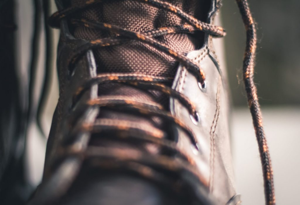 closeup-photo-of-brown-lace-up-boot-936361